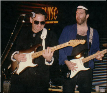 Tom with Duke Robillard
